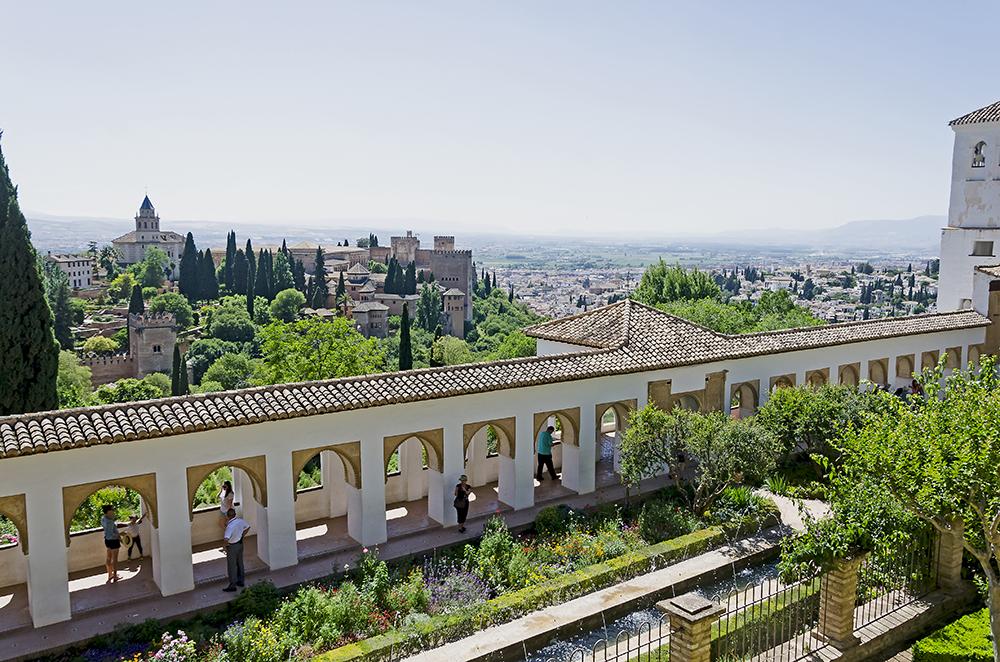 Spanien Granada Alhambra