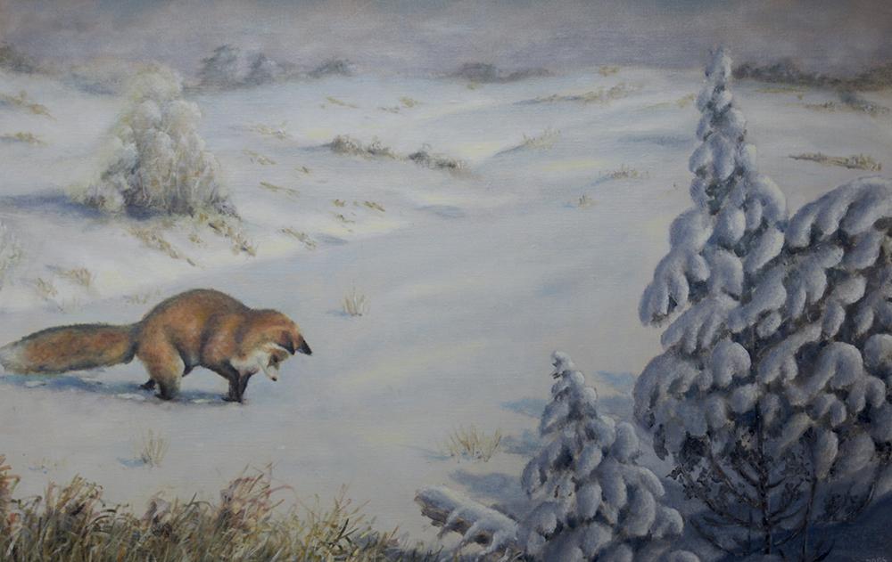 Jagande vinterräv, 2006