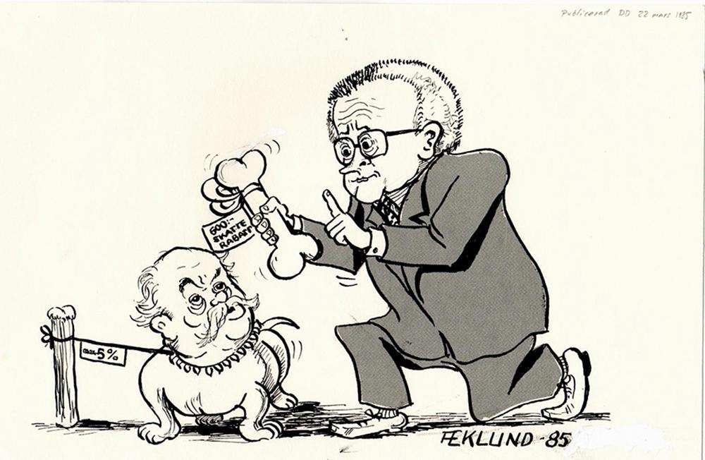 Löneförhandling 1985