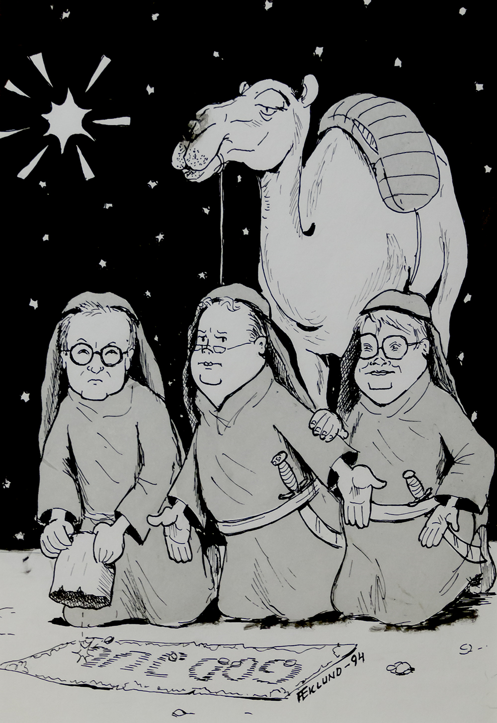 De tre vise männen 1994