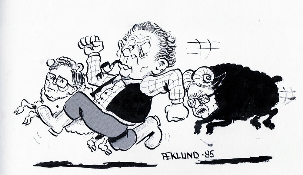 Det svarta fåret 1985