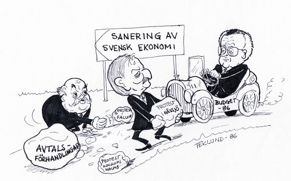 Ekonomisanering 1986