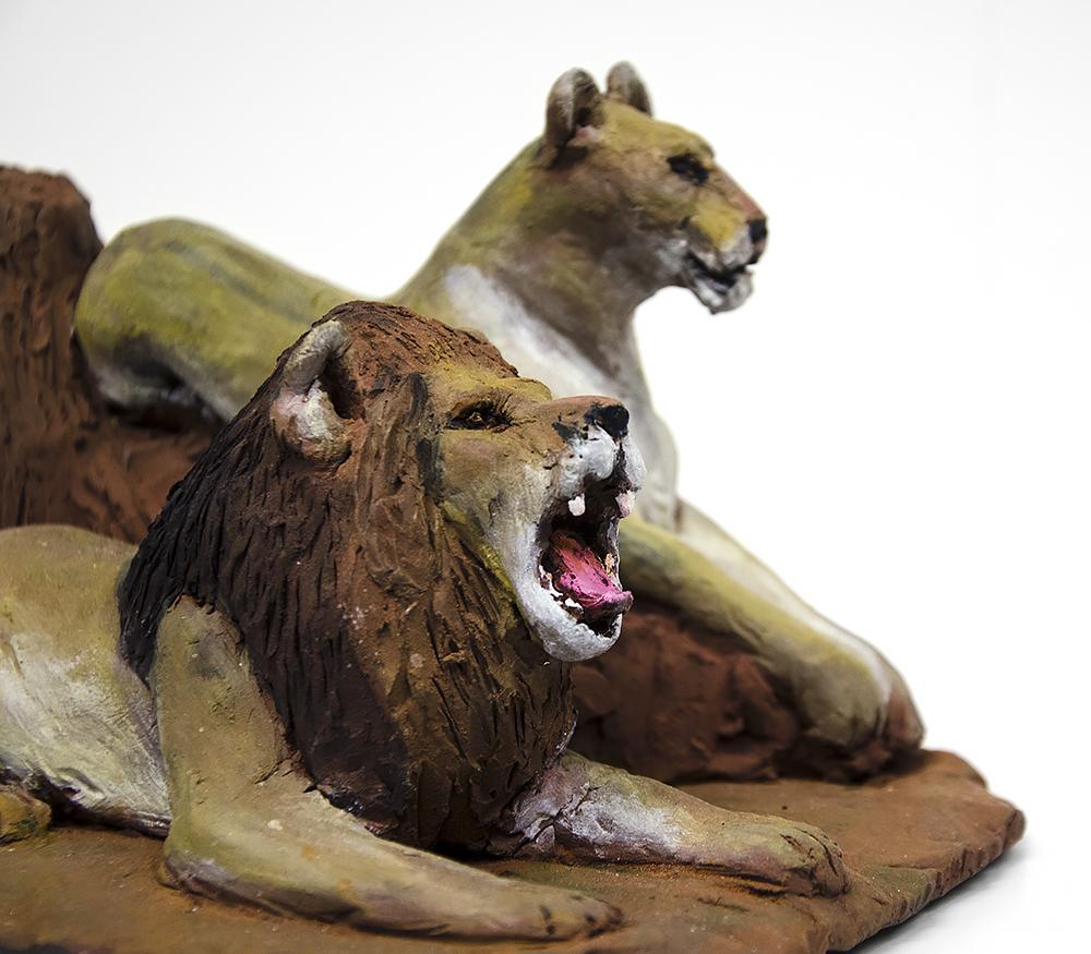 Lejon närbild