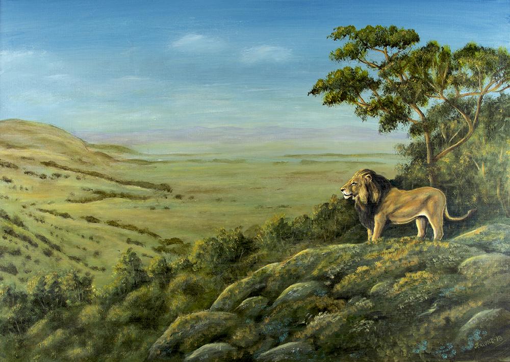 Lejonmark